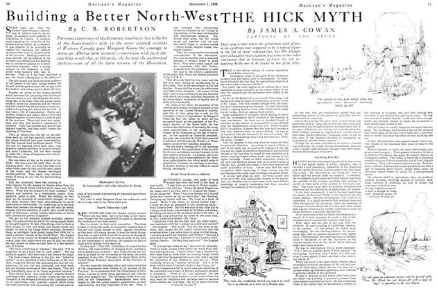 Article Preview: THE HICK MYTH, September 1st 1926 1926 | Maclean's