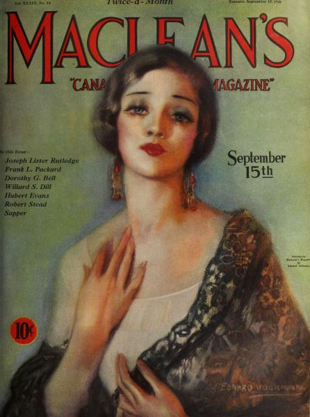 Issue: - September 15th 1926 | Maclean's