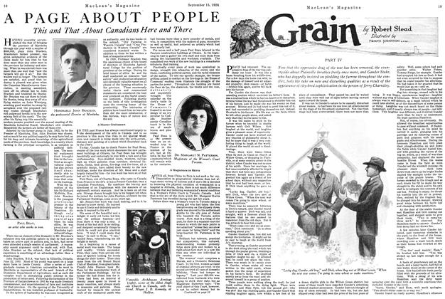 Article Preview: Grain, September 15th 1926 1926 | Maclean's