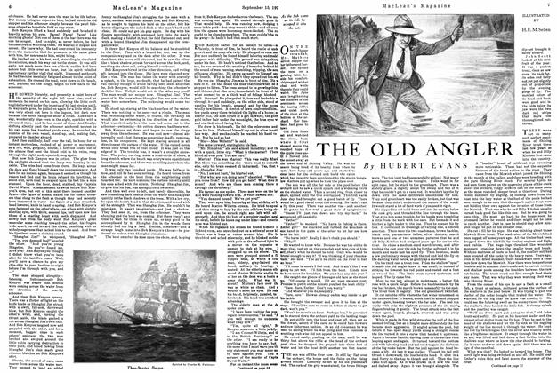 Article Preview: THE OLD ANGLER, September 15th 1926 1926 | Maclean's