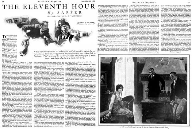 Article Preview: THE ELEVENTH HOUR, September 15th 1926 1926 | Maclean's