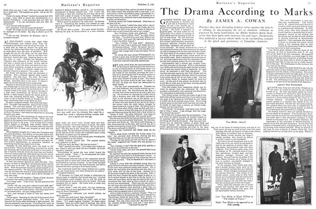 Article Preview: The Drama According to Marks, October 1926   Maclean's