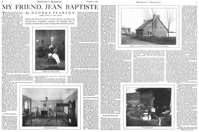 Article Preview: MY FRIEND, JEAN BAPTISTE, October 1926 | Maclean's
