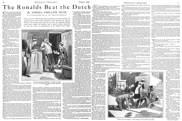 Article Preview: The Ronalds Beat the Dutch, October 1926 | Maclean's