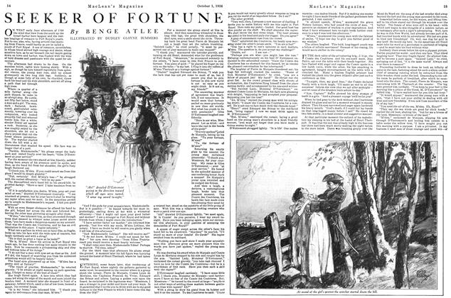 Article Preview: SEEKER OF FORTUNE, October 1926 | Maclean's