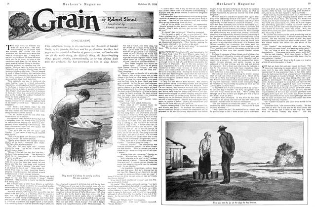 Article Preview: Grain, October 15TH 1926 1926 | Maclean's
