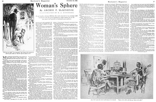 Article Preview: Woman's Sphere, Toronto, November 15, 1926 1926 | Maclean's