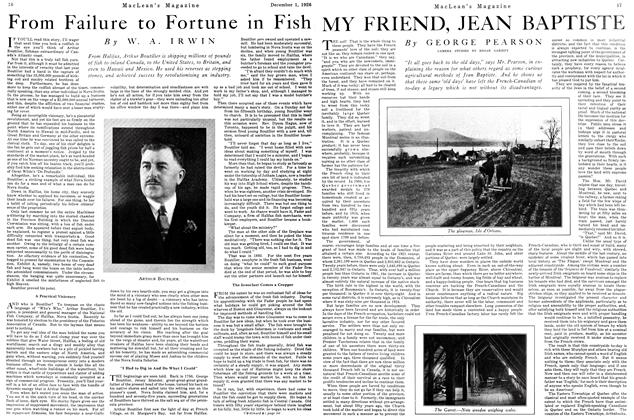 Article Preview: MY FRIEND, JEAN BAPTISTE, December 1926 | Maclean's