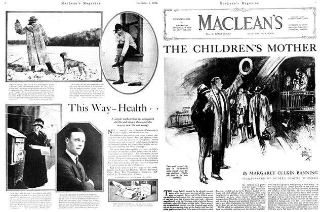 Article Preview: THE CHILDREN'S MOTHER, December 1926 | Maclean's