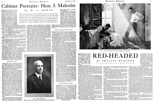 Article Preview: RED-HEADED, December 1926 | Maclean's