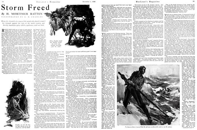 Article Preview: Storm Freed, December 1926   Maclean's