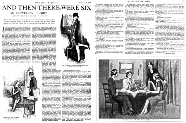 Article Preview: AND THEN THERE WERE SIX, December 1926 | Maclean's