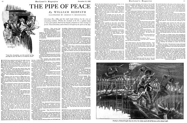 Article Preview: THE PIPE OF PEACE, December 1926 | Maclean's