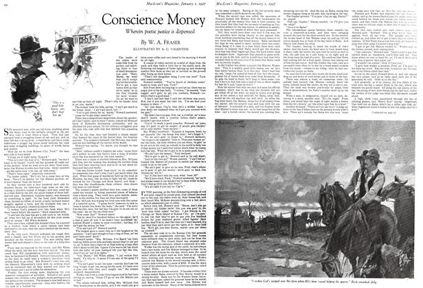 Article Preview: Conscience Money, January 1 ST 1927 1927 | Maclean's