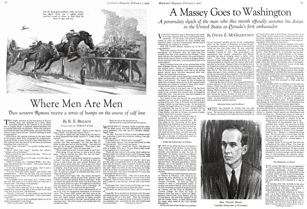Article Preview: Where Men Are Men, February 1st 1927 1927 | Maclean's