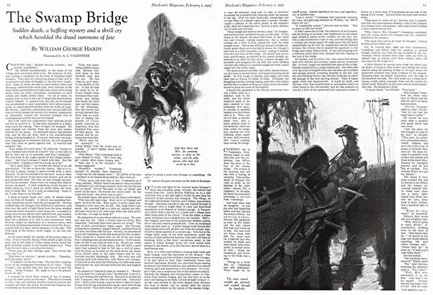 Article Preview: The Swamp Bridge, February 1st 1927 1927 | Maclean's