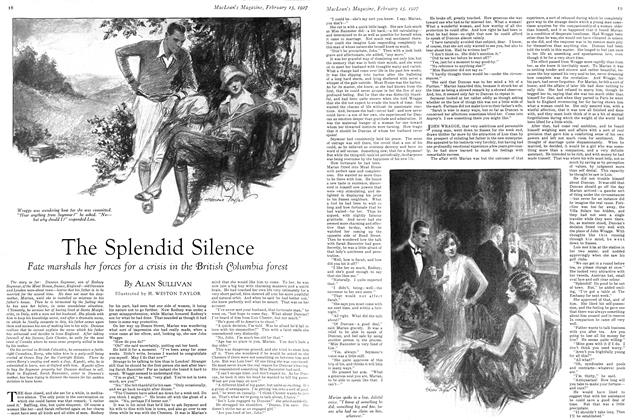 Article Preview: The Splendid Silence, February 15th 1927 1927 | Maclean's