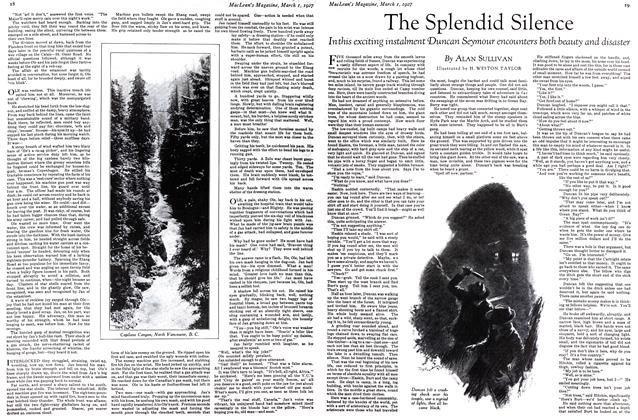 Article Preview: The Splendid Silence, March 1st 1927 1927 | Maclean's