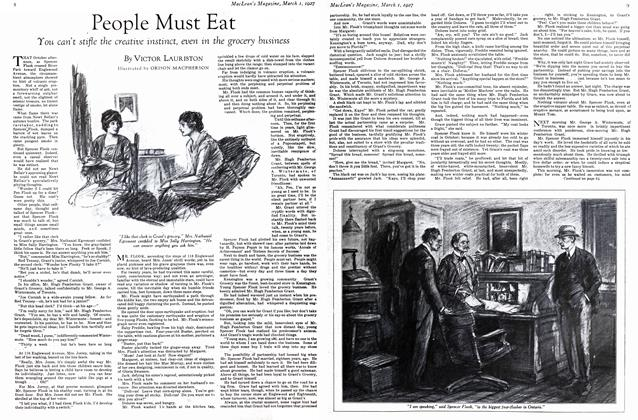 Article Preview: People Must Eat, March 1st 1927 1927 | Maclean's