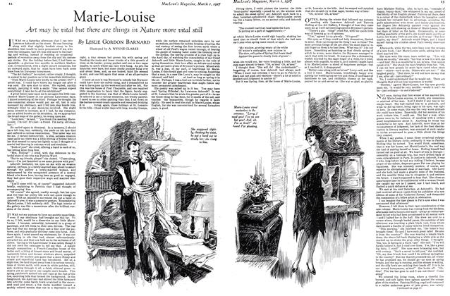 Article Preview: Marie-Louise, March 1st 1927 1927 | Maclean's