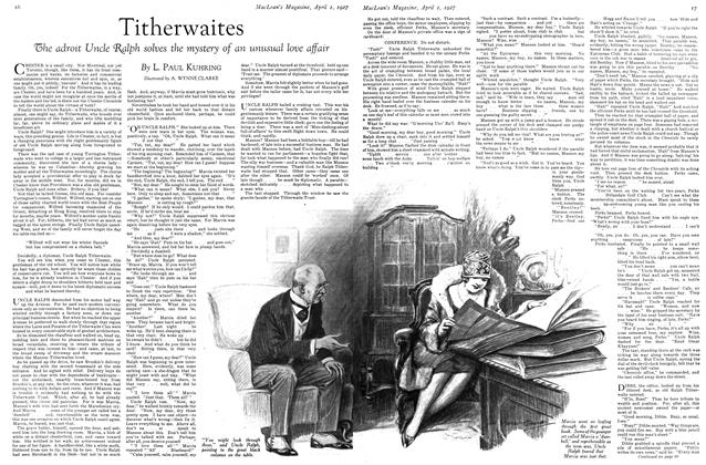 Article Preview: Titherwaites, April 1ST 1927 1927 | Maclean's
