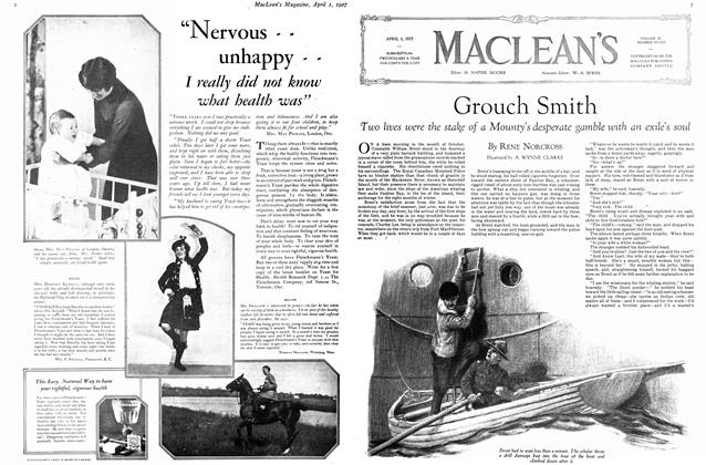 Article Preview: Grouch Smith, April 1ST 1927 1927 | Maclean's