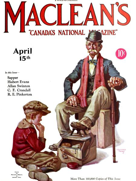 Issue: - April 15th 1927 | Maclean's