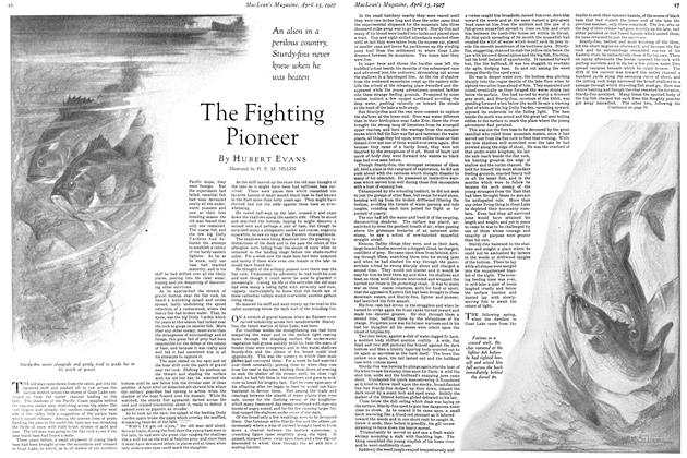 Article Preview: The Fighting Pioneer, April 15th 1927 1927 | Maclean's