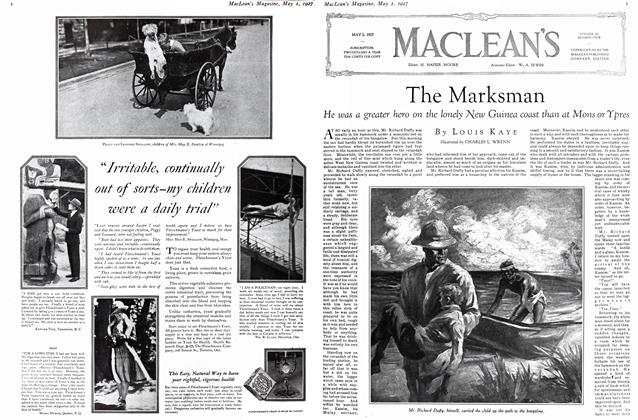 Article Preview: The Marksman, MAY 1st 1927 1927 | Maclean's