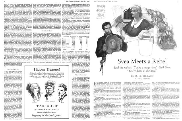 Article Preview: Svea Meets a Rebel, May 15TH 1927 1927 | Maclean's