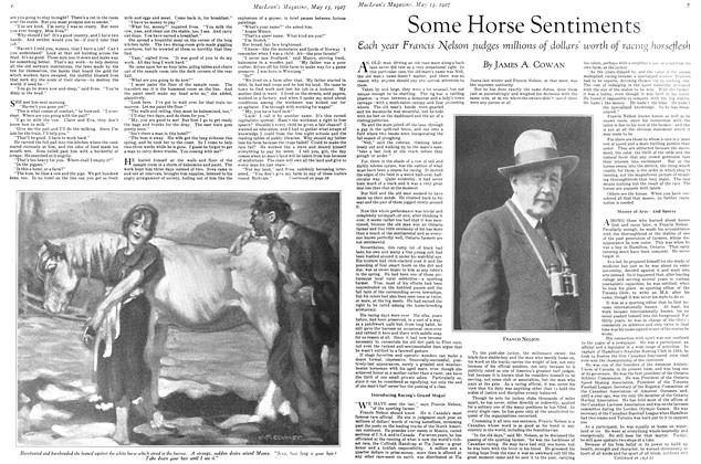 Article Preview: Some Horse Sentiments, May 15TH 1927 1927 | Maclean's