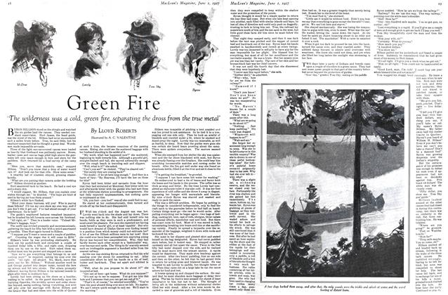 Article Preview: Green Fire, June 1st 1927 1927 | Maclean's