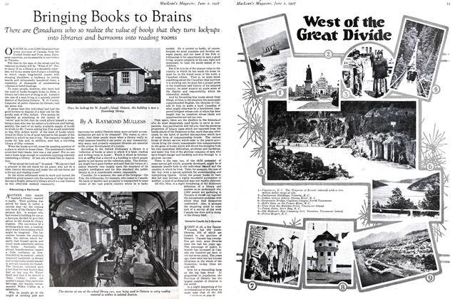 Article Preview: Bringing Books to Brains, June 1st 1927 1927 | Maclean's