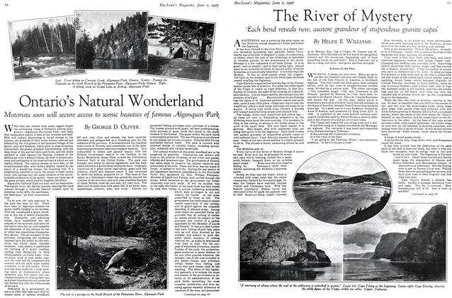 Article Preview: The River of Mystery, June 1st 1927 1927 | Maclean's