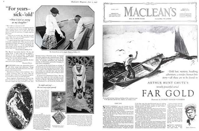 Article Preview: FAR GOLD, June 1st 1927 1927 | Maclean's