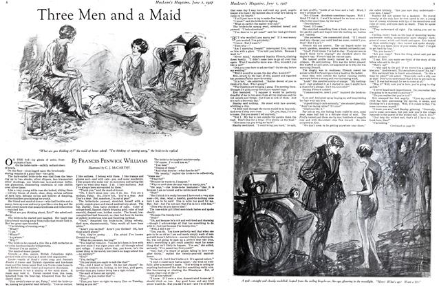 Article Preview: Three Men and a Maid, June 1st 1927 1927 | Maclean's