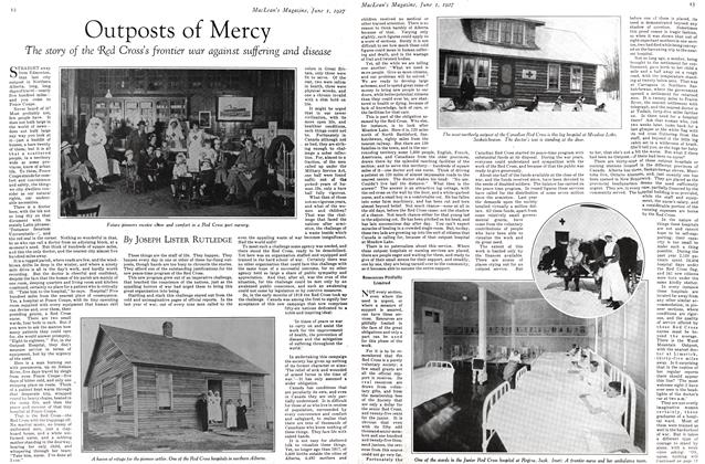 Article Preview: Outposts of Mercy, June 1st 1927 1927 | Maclean's