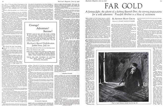 Article Preview: FAR GOLD, June 15 th 1927 1927 | Maclean's