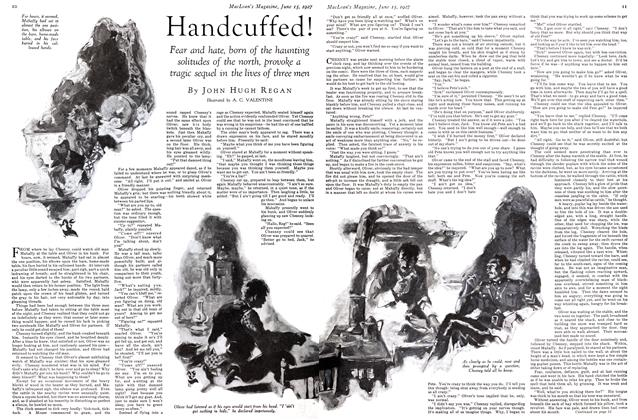 Article Preview: Handcuffed!, June 15 th 1927 1927 | Maclean's