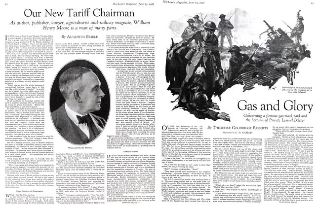 Article Preview: Our New Tariff Chairman, June 15 th 1927 1927 | Maclean's