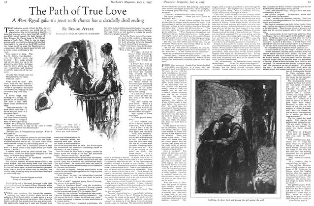 Article Preview: The Path of True Love, July 1927 | Maclean's