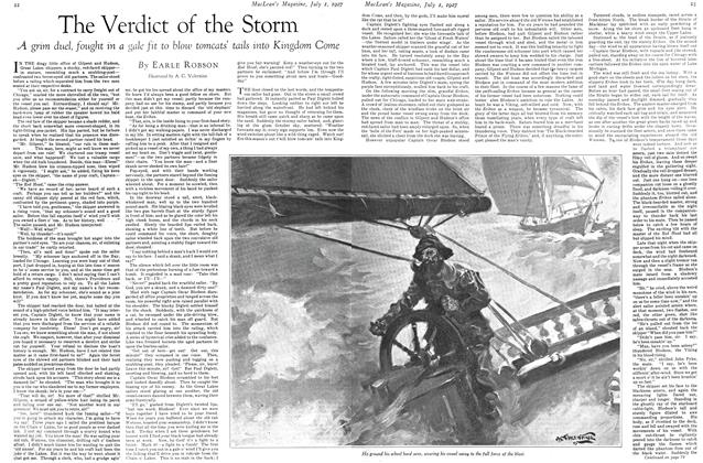 Article Preview: The Verdict of the Storm, July 1927 | Maclean's