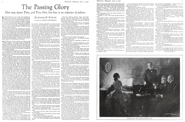 Article Preview: The Passing Glory, July 1927 | Maclean's