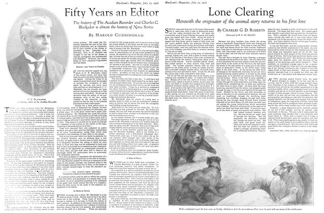 Article Preview: Lone Clearing, July 15th 1927 1927 | Maclean's