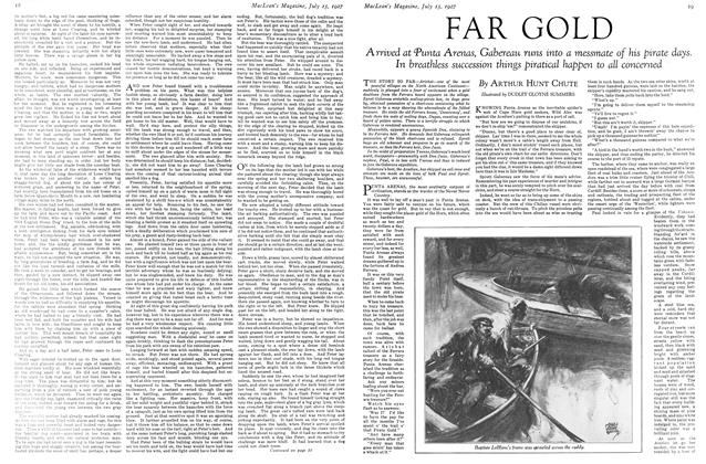 Article Preview: FAR GOLD, July 15th 1927 1927 | Maclean's