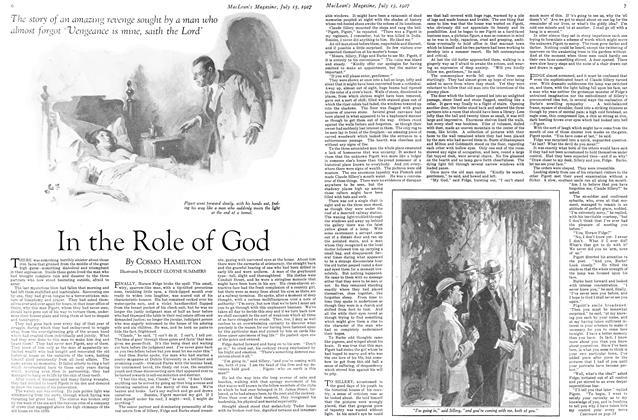Article Preview: In the Role of God, July 15th 1927 1927 | Maclean's