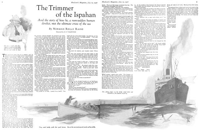 Article Preview: The Trimmer of the Ispahan, July 15th 1927 1927 | Maclean's