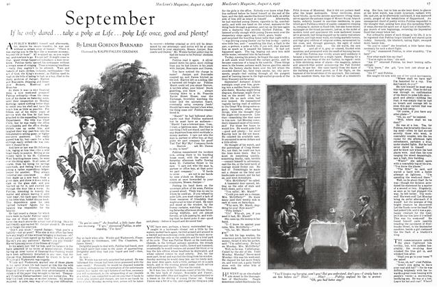 Article Preview: September, August 1927 | Maclean's