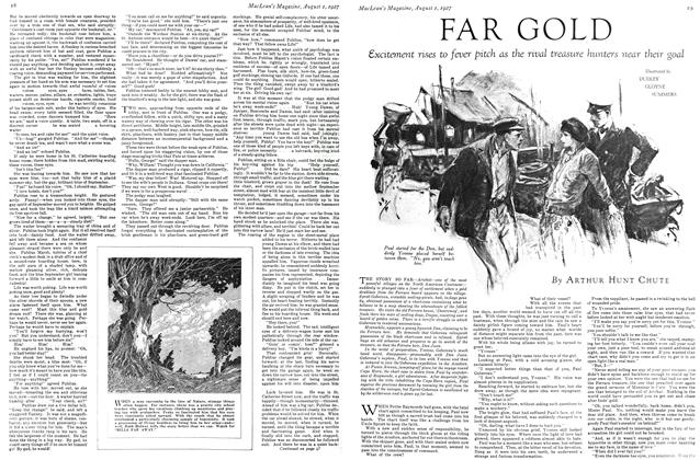 Article Preview: FAR GOLD, August 1927 | Maclean's