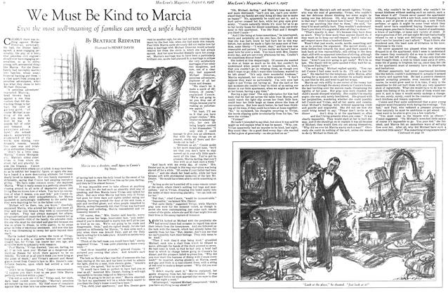 Article Preview: We Must Be Kind to Marcia, August 1927 | Maclean's